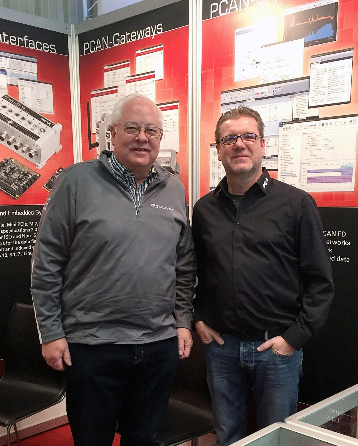 Grid Connect Founder Mike Justice and PEAK Founder Uwe Wilhelm